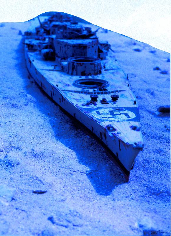 Maquette De L U0026 39  U00e9pave Du Bismarck